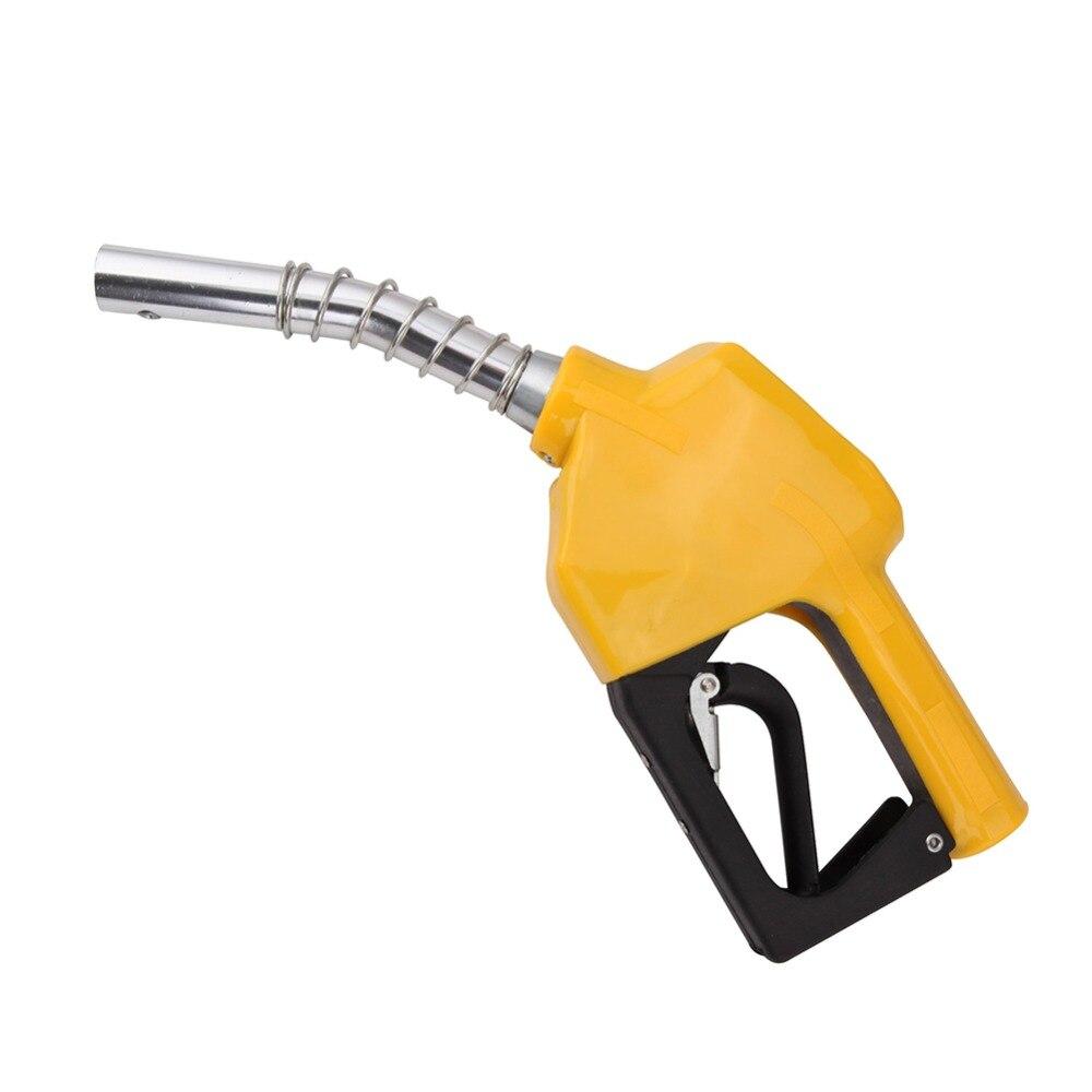 Oil Gun Flow Meter Indicator Nozzle Fuel Gasoline Petrol Diesel Oil Water Refueling Gun Fuel Gauge Injection Tool Auto Shut-off