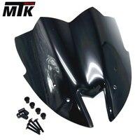 Motorcycle Black Windshield WindScreen Viser VIsor New Style Fits For Kawasaki Z800 2012 2013 2014 2015
