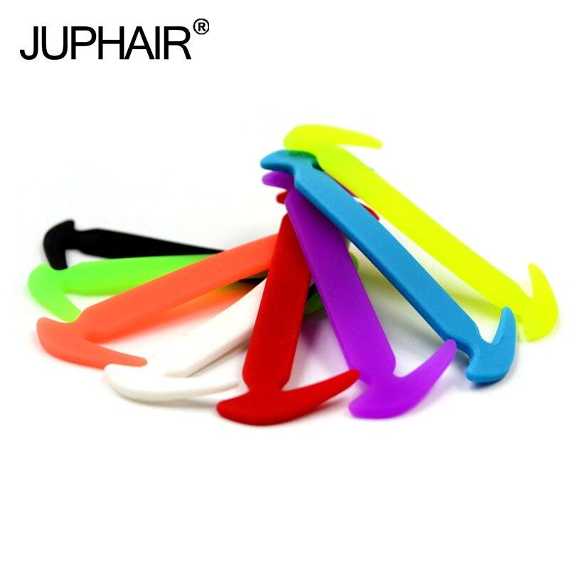 JUP1 Pack 12 Roots Shoelaces Unisex Elastic Silicone Shoe Laces Men Women All Sneaker Fit Strap Sport Canvas PU Shoes Accessarie