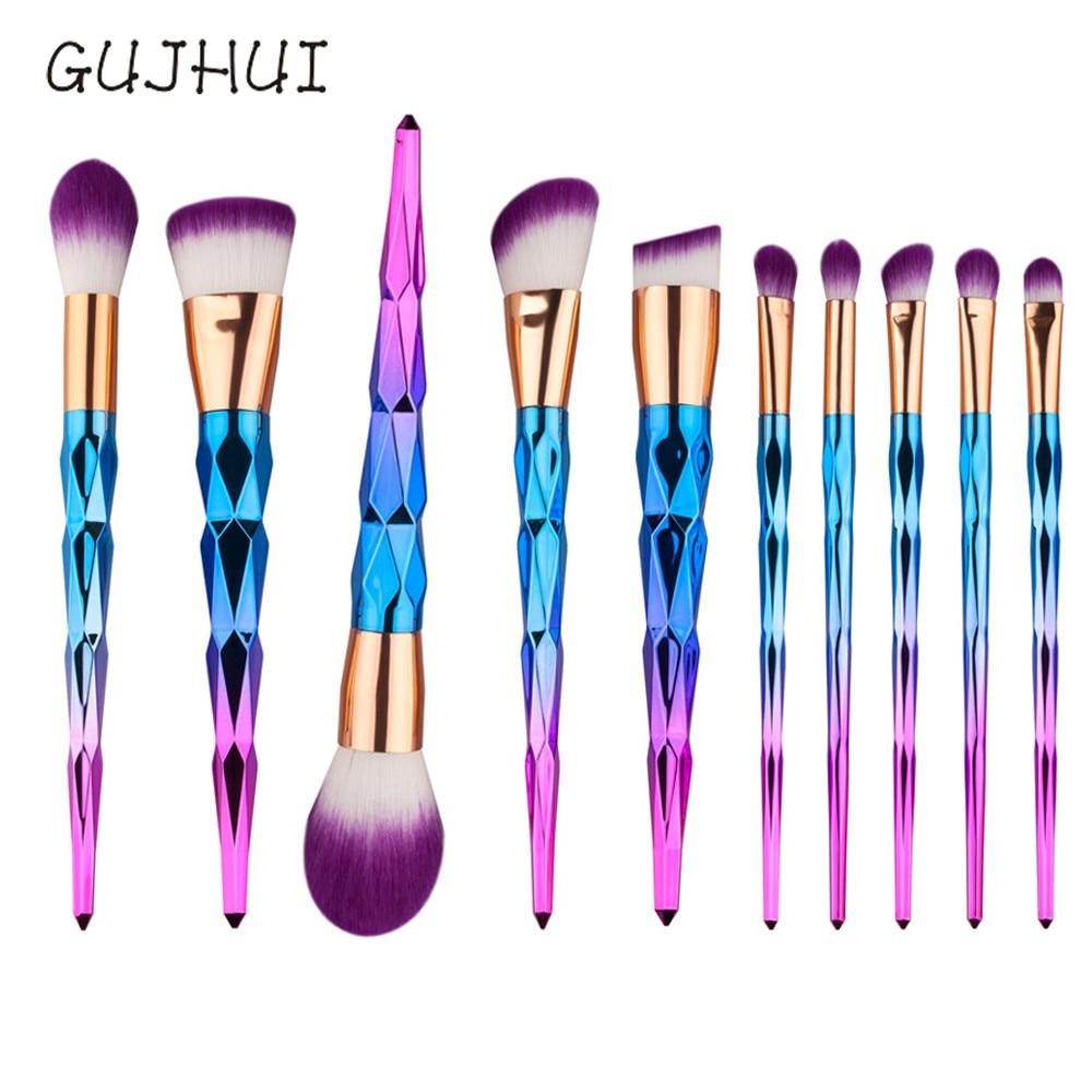 makeup brushes maquiagemmakeup brushes cepillo  brosses 2017 10PCS   Cosmetic Makeup Eye Shadow Set Kit MAY29