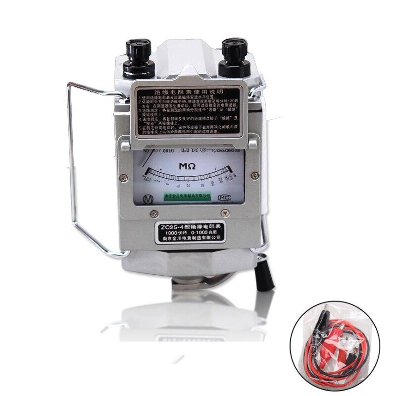 ZC25 4 1000 v 1000mO ohm isolamento