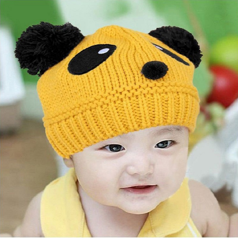 Acrylic wool children skullies knitted hats and caps winter bonnets homme enfant chapeau kids muts beanies for baby boys girls in Men 39 s Skullies amp Beanies from Apparel Accessories