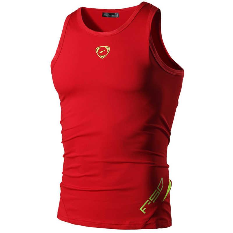 وصل حديثًا قميص بدون أكمام بقصة ضيقة سريعة الجفاف للرجال من جيسيان تي شيرت مقاس S M L XL XXL LSL3306 (يُرجى اختيار مقاس أمريكي)