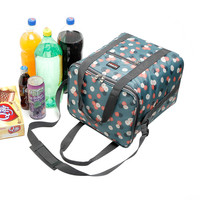 New High quality cooler bags thermal insulation and cold storage lunch bag, picnic aluminum bag, large capacity 22L