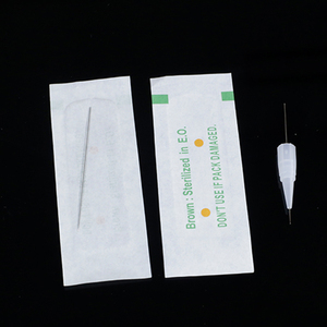 Image 3 - 100PCS 1R 3R 5R 5F 7F PMU Needles + Needle Tips Disposable Sterilized Professional Tattoo needles for Permanent Makeup Eyebrow