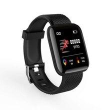 цена на Smart Bracelet Waterproof Watch Blood Pressure Measurement Fitness Tracker Heart Rate Monitor Smart Pedometer Band