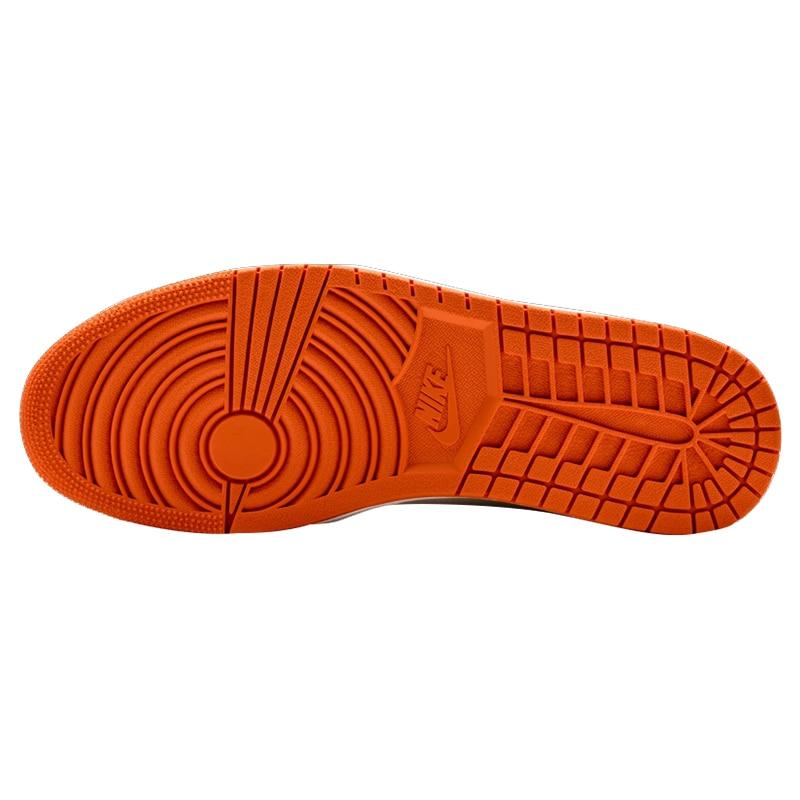 2d373c77a3d6 Nike Air Jordan 1 Retro High OG AJ1 White Orange White Rebound Men s  Basketball Shoes