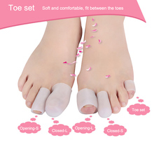 2pcs=1pair Professional Silicone Finger Toe Protector Planta