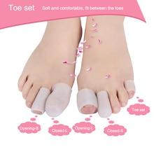 2pcs=1pair Professional Silicone Finger Toe Protector Planta