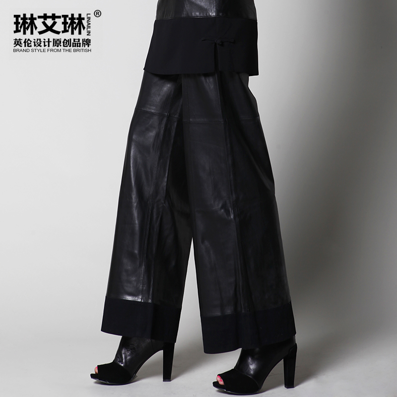 Popular Leather Pants Women Genuine-Buy Cheap Leather Pants Women ...
