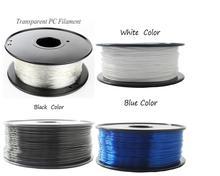 Нить из поликарбоната 1,75/3 мм для 3D-принтера, прочная термопластичная нить с термопластичным покрытием