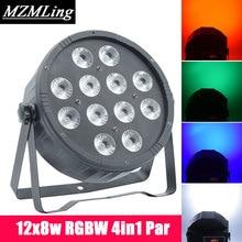 12x8w RGBW 4In1 LED Par Light Professional DJ /Bar /Party /Show /Stage Light LED Stage Machine