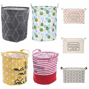 Cotton Linen Laundry Storage B