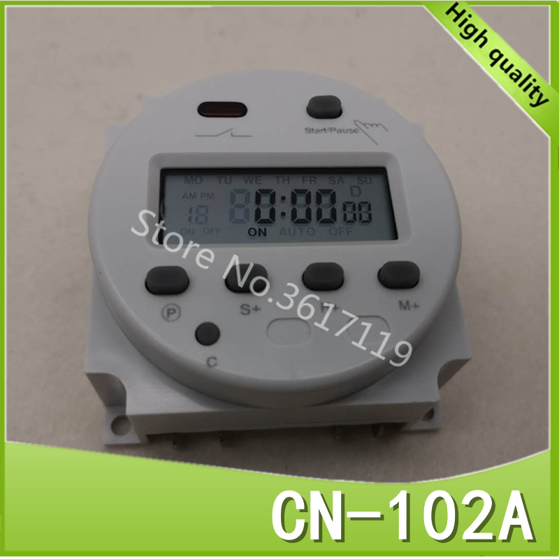 все цены на CN102A 12V/24V/110V/220V Single and double countdown micro cycle time control switch timer controller seconds control