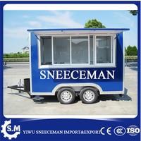 Фургон для продажи еды грузовики корзина с закусками хот дог гамбургер мороженое тяги тележка фаст фуд трейлер
