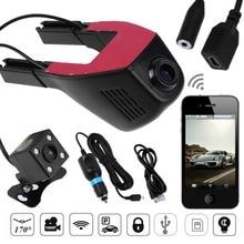 Mini WiFi Car DVR Camera Dashcam 1080P Digital Video Recorder 170 Degree G-sensor Motion Detection Dash Cam Camcorder for Auto цена