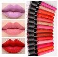 2017 líquido lipstick hot venta duradera elegante colores multi belleza suave maquillaje lápiz labial sexy chica dulce labio lipstick d13