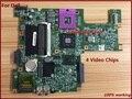 Placa madre del ordenador portátil para dell inspiron 1545 cjfhx 0 cjfhx cn-0cjfhx 4 chips de vídeo tarjeta gráfica no integrada