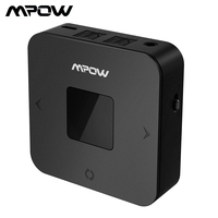 Mpow BH286A Bluetooth Receiver and Transmitter 4.1 Wireless Bluetooth Audio Receiver 3.5mm Car Aux Bluetooth Adapter for Speaker