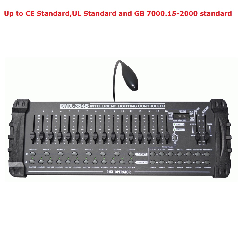 Sale International Standard DMX 384B Controller Control Moving Head Led Par Lights Consoles DJ Disco DMX512 Controller Equipment bx 6q3 usb and ethernet port lintel full color led control card asynchronous video led sign controller 384 1024 512 768pixels