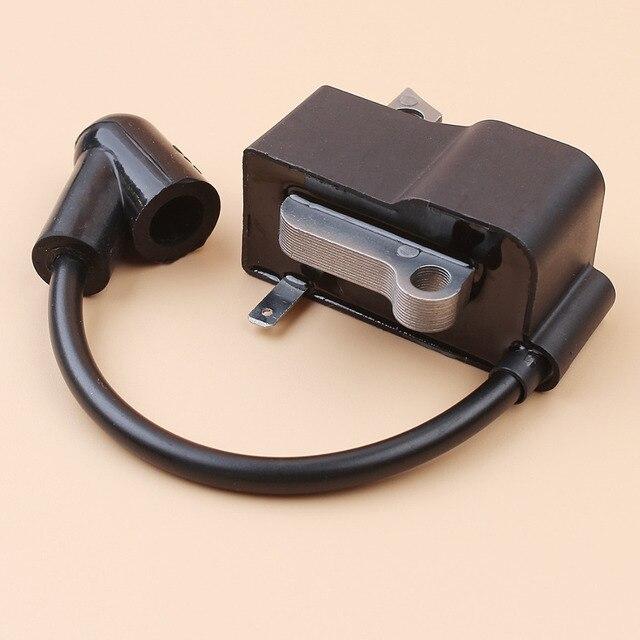 Módulo de bobina de ignição, peças magneto fit husqvarna 435 440 440e 445 450 450e jonsered 2245 2250 2240