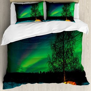 Northern Lights Duvet Cover Se