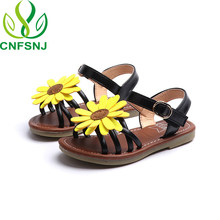 079f5c633f01 CNFSNJ New fashion Summer Girls Sandals 2018 sunflower Children sneakers Little  baby shoes Colorful Beach Slippers
