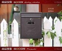 정원 장식/럭셔리 빌라 사서함/아연 메일 상자/신문 상자
