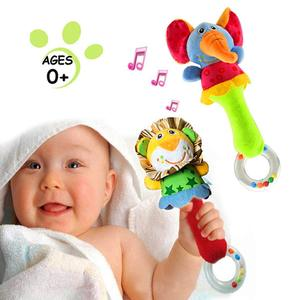 Baby Soft Rattles Shaker Toys