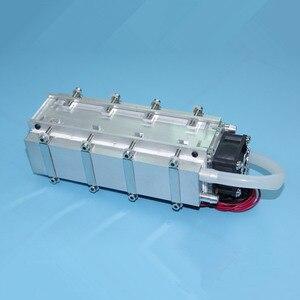 Image 2 - 12V 240W 480W Semiconductor kälte CPU hilfs wasser gekühlt klimaanlage fan Raum temperatur kühlung kalt air wind