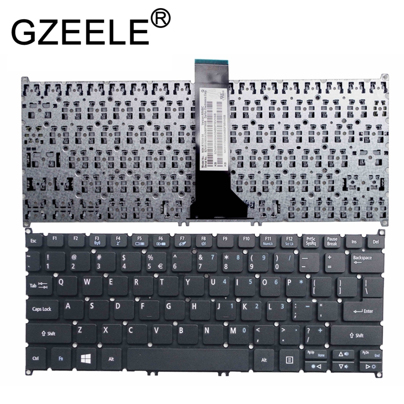 GZEELE New For Acer Aspire V3-111P V3-112P V3-331 V3-371 V3-372 V3-372T E3-111 E3-112M ES1-111 Es1-111M ES1-311 Keyboard US