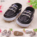0-2 year old baby boy first walk shoe leather surface new born boy shoes sapato de bebe menino 452