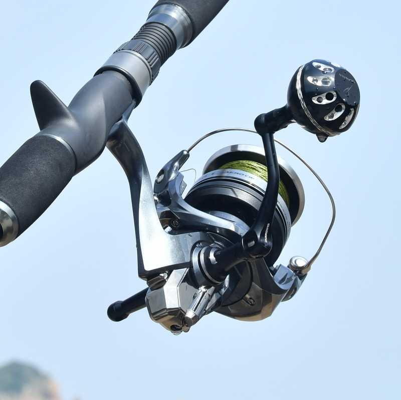Gomexus Reel Handle Power Knob For Shimano Sustain FG FI Caldia Direct Daiwa BG Penn Spinfisher 1000 - 4000 Drill 38mm