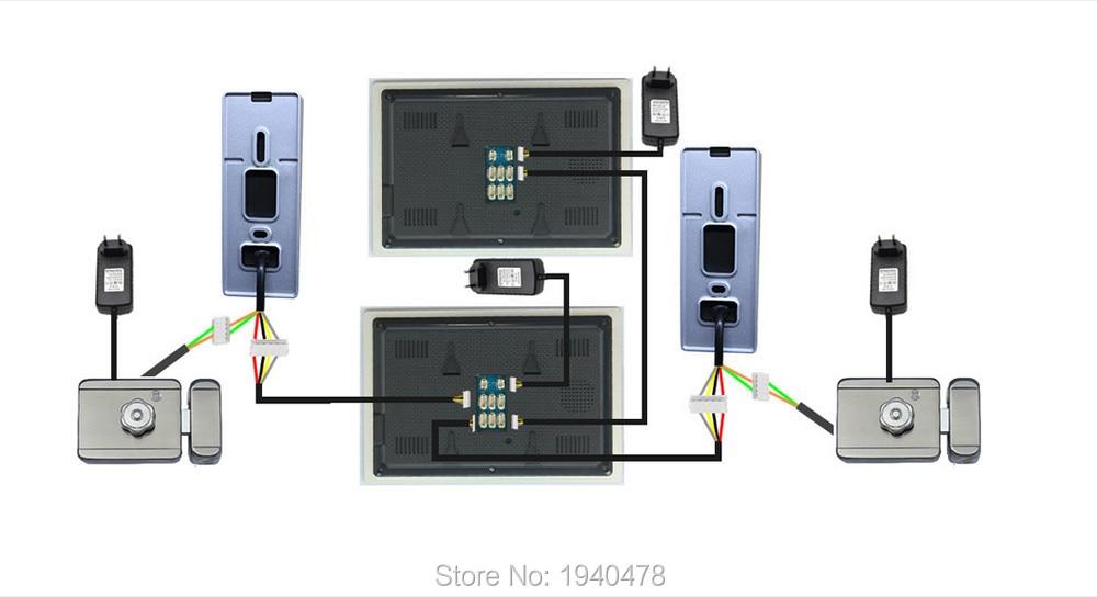Swann Intercom Wiring Diagram : Video door phone wiring diagram images