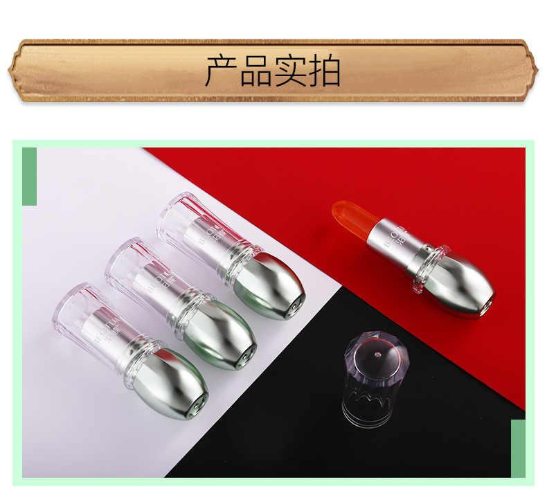 אלוורה ג 'ל טבעי קרם לחות שפתון טמפרטורה שונה צבע Lipblam קסם ורוד כתום מגן שפות קוסמטיקה איפור