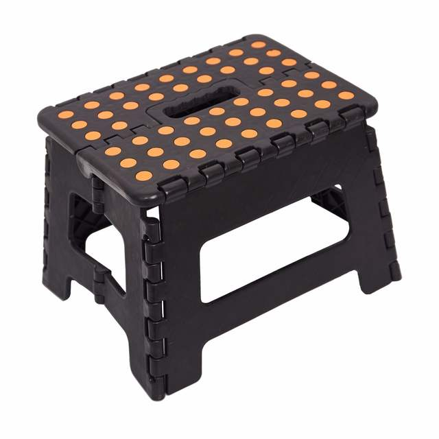 Fine Us 10 99 30 Off Folding Step Stool Chair Sturdy Plastic One Step Stools Portable Outdoor Picnic Step Stool For Kids Home Furniture 3 In Step Stools Caraccident5 Cool Chair Designs And Ideas Caraccident5Info