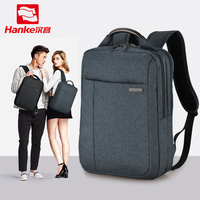 Hanke City Elite Men Backpack Female Leisure College Bag Bag Travel Bag Business Case Man