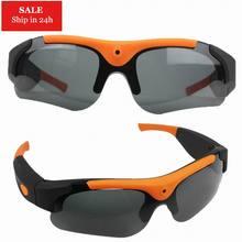 d20fb6d8494 2018 HD 1080P 8GB 16GB 32GB Camera Smart Glasses Black Orange Polarized Lens