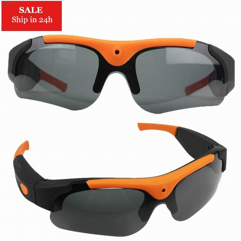 2020 HD 1080P 8 ГБ/16 ГБ/32 Гб Камера Смарт очки черный/оранжевый поляризованные линзы солнцезащитные очки камера экшн Спорт Видео камеры очки