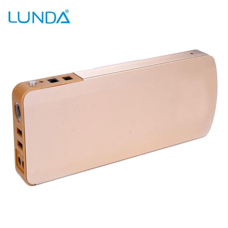 Prix pour LUNDA 800A Pic Réelle Capacité 18000 mAh Portable Haute puissance Voiture De Saut démarreur Banque pour Moteurs jusqu'à 4.0L Gaz et 5.0L Diesel
