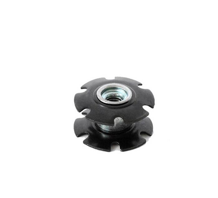 New ROCKBROS Steer Tube Headset Aluminum Star Nut 1 1 8 28 6mm 1pcs