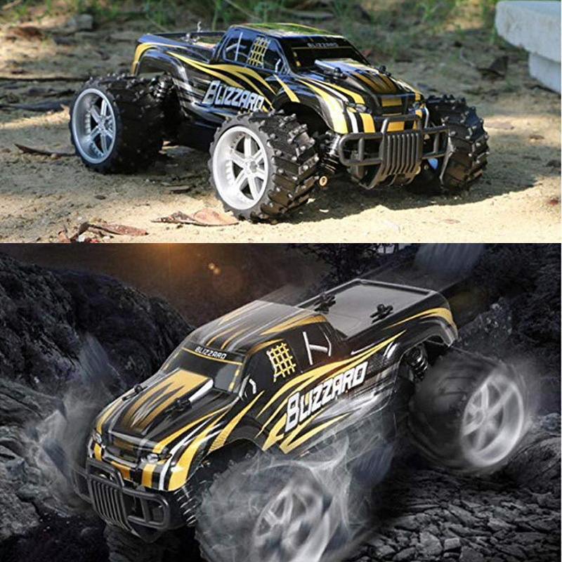 цена High-Speed Shock Absorption System SUV Radio-Controlled Toy Cars With Big Foot Off-Road Sports Car Children Electric Toy Car