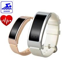Оригинальная DF23 спортивный браслет Smart Band плавание водонепроницаемый heartrate монитор Интеллектуальный Будильник SMS вызова, браслет