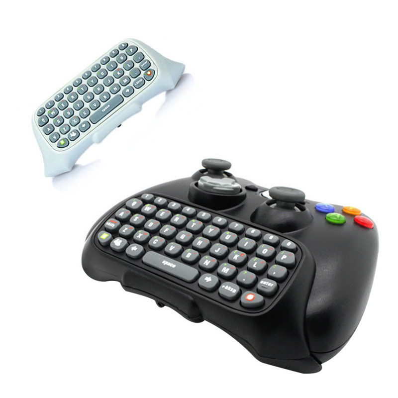 Newest Style Top Selling Wireless Chatpad Messenger Keyboard Keypad for XBOX 360 Controller High Quality