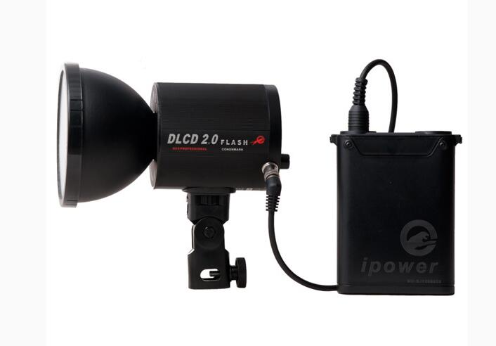 CONONMARK DL2 0 Kit 200W Compact 95 200mm Outdoor Studio Strobe Flashlight for DSLR carmera video