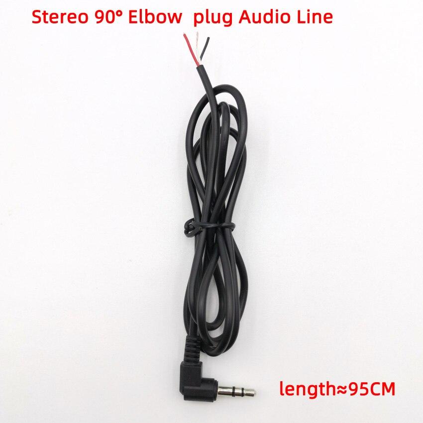 2 шт. Высококачественная медная проволока, провод для обслуживания наушников для DIY, замена кабеля для наушников, разъем 3,5 мм, аудио кабель, Р...
