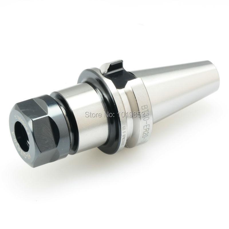 BT30-ER20-70L Milling chuck tool holder balanced G2.5 25000rpm for CNC milling machine center er20 nuts for er milling chuck holder nuts for cnc router machine