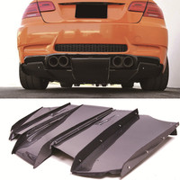 V A Style Carbon fiber Rear Diffuser Undertray For BMW E92 M3