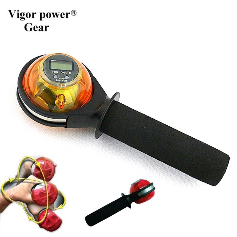 Boule de poignet Gyroscope Fortifiant Power Ball Boule de Poignet, nouveau Poignet Poignet de Gyroscope Renforceur Ball Bras