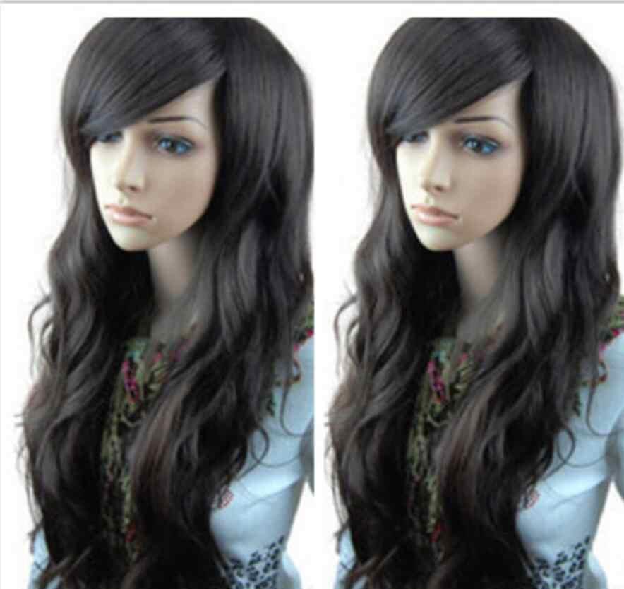 Парик сексуальный Новый Модный женский полный парик длинные вьющиеся волосы парик косплей вечерние парик Бесплатная доставка